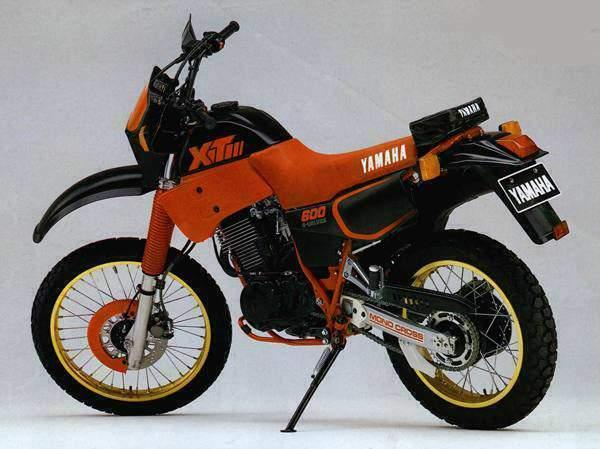 Yamaha XT600 88